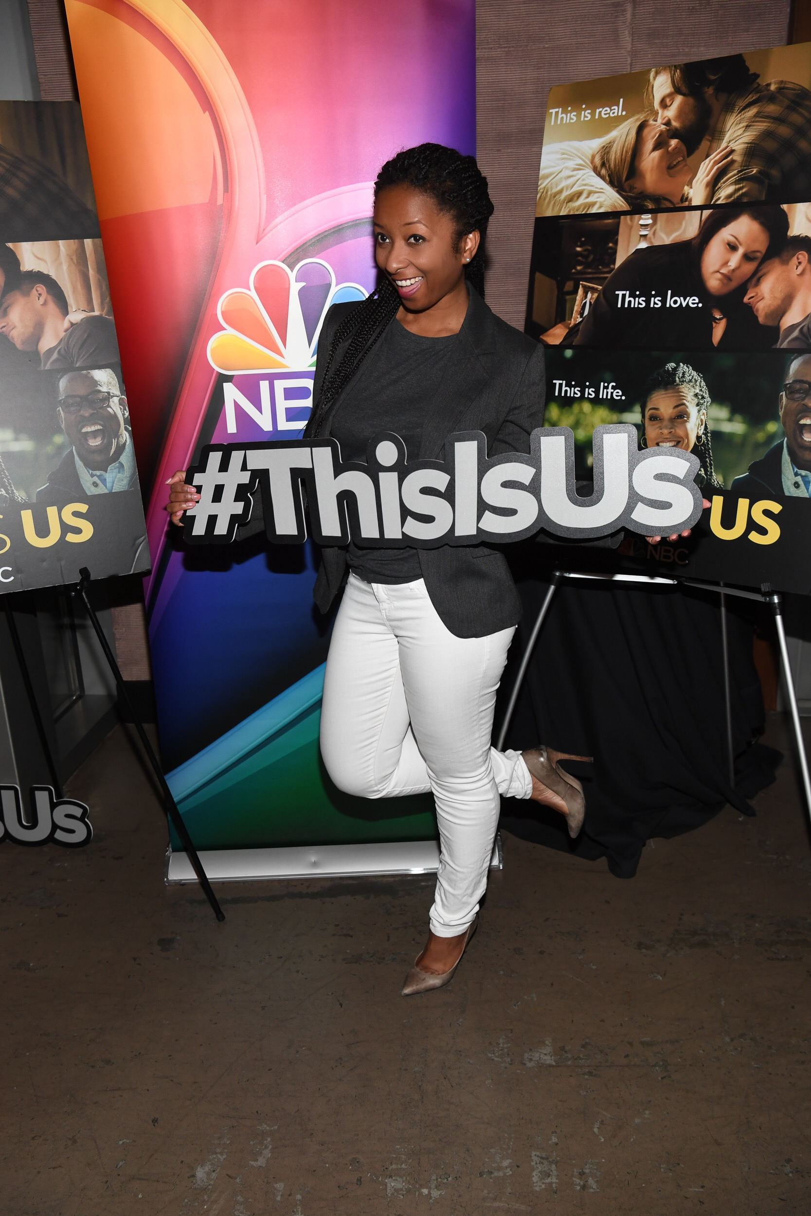 NBC press dinner for 'This Is Us'.