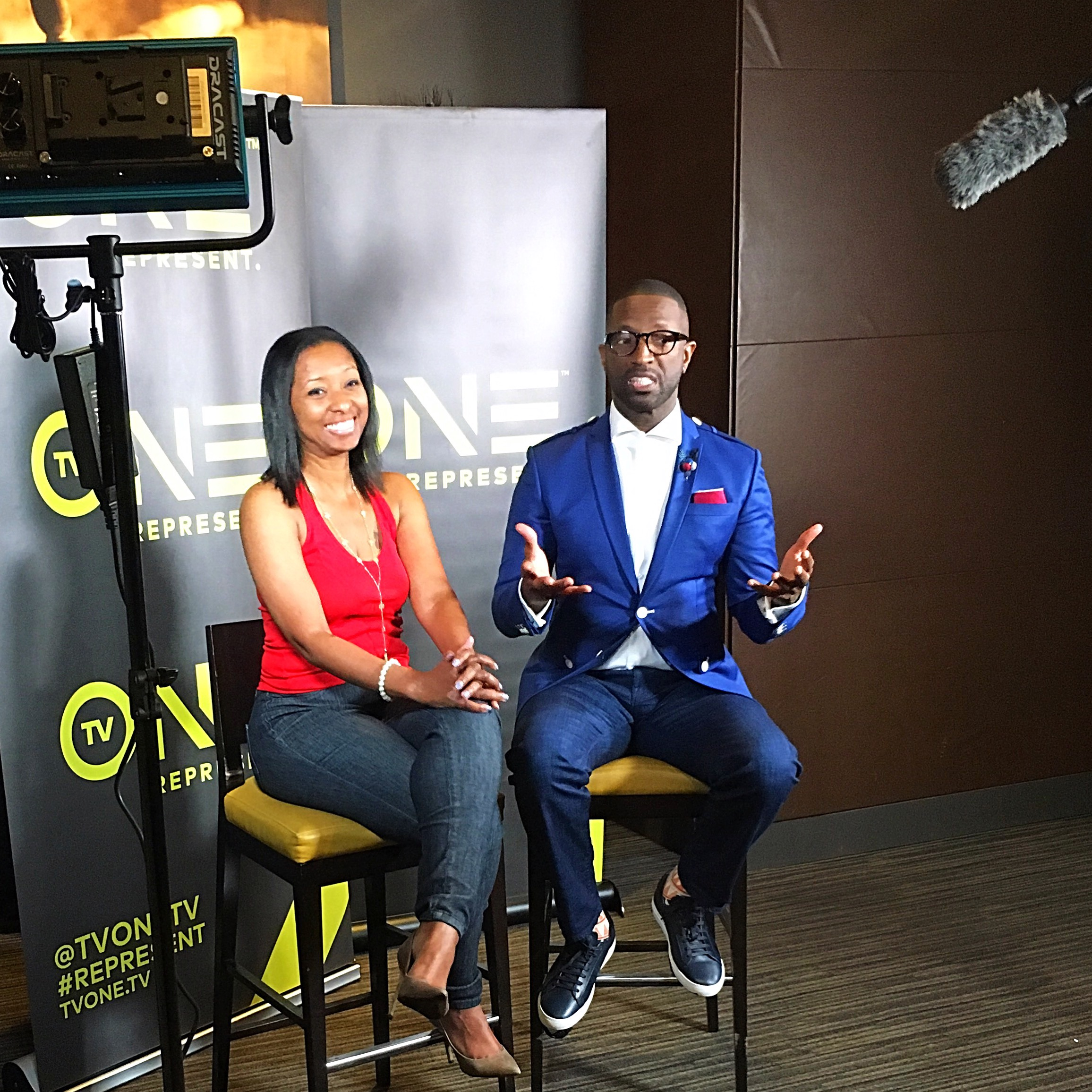 Rickey Smiley interview for his show on TVOne.