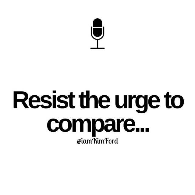 Comparing only leads to jealousy and low confidence. You ARE enough. Just do the work. Your time is coming... #LevelUp #KeepGoing