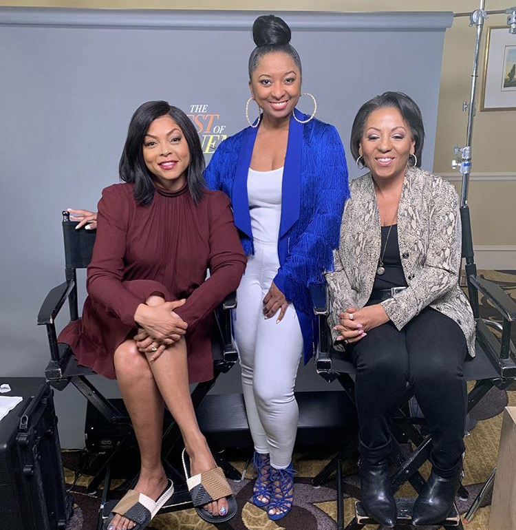 One-on-one interview with Taraji P. Henson and producer Dominique Telson for Best of Enemies.