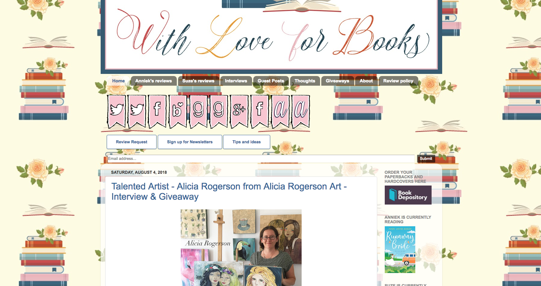 With Love For Books Giveaway