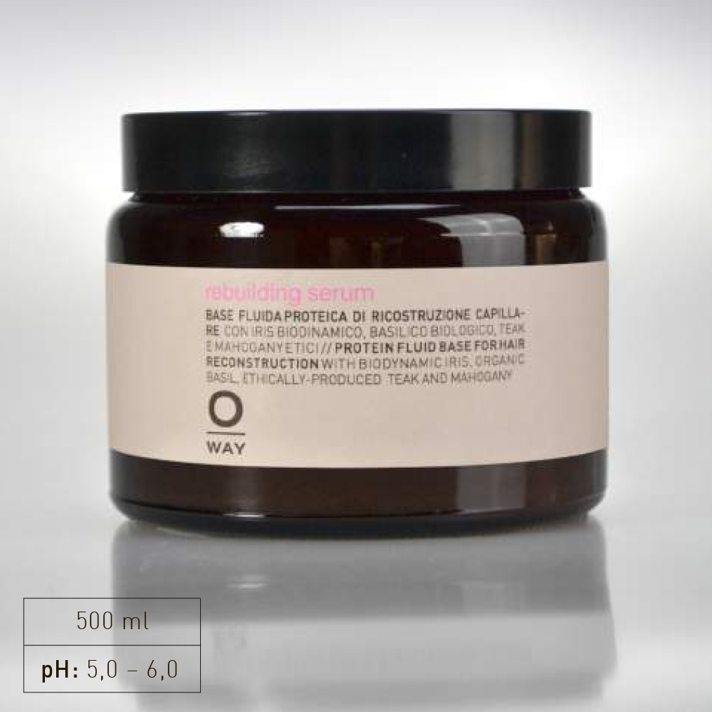 "+ A complex of 18 biomimetic amino acids with low molecular weight, which exactly reproduce the hair keratin structure, and ""intracellular cement"" for the cuticle and cortes: they refill and recompact keratin chains, creating a continuous, cohesive structure.  +Increases the amino acids on the hair for a brighter, healthier appearance"