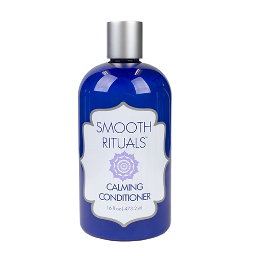 FOR SOFTNESS AND SHINE - $40   Formulated with a harmonious balance of hydration and strength to prolong the results of a Smooth Rituals Keratin Treatment. This restorative conditioner seals and repairs the cuticle, while locking in shine with soothing Arnica Flower Extract and Nettle Leaf Extract.   sulfate free // paraben free // cruelty free