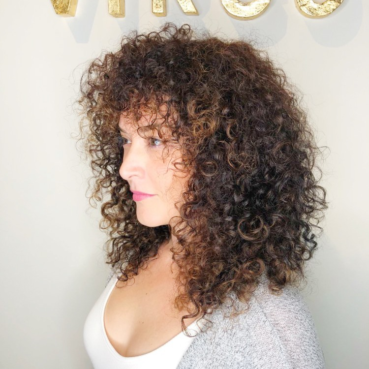 Carla V.  ★★★★★   You will NEVER find anyone as amazing and creative as Mateo! It took me 36 years to be happy w my curly hair without having to constantly be doing something to it (flat ironing, blow drying, applying endless products) I can't explain how many times I have gone to stylist and left wanting to cry. Weeks after Mateo cut and colored my hair I was still txting him how happy I was with it. My cut and color is even better than what I asked for. I never thought I could have the look I wanted and Mateo made it happen for me. I have received so many compliments and have sent a couple of people his way just based on my color and cut!!! Mateo is SO knowledgeable and in tune to what you need or want. I can promise you will not go to anyone else for your hair once you leave his place.