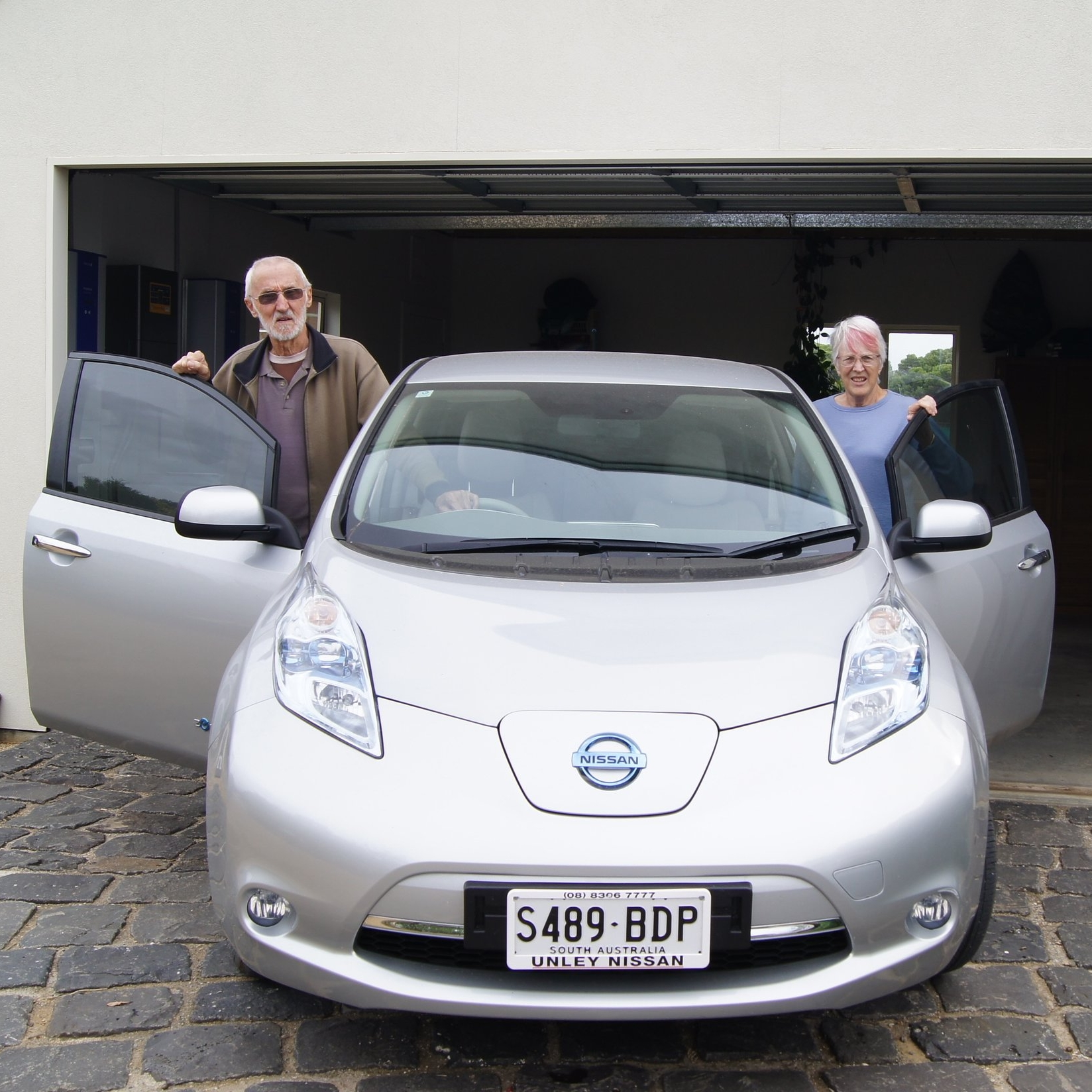 Elizabeth and John Heij  Retirees, Aldinga Arts Eco Village