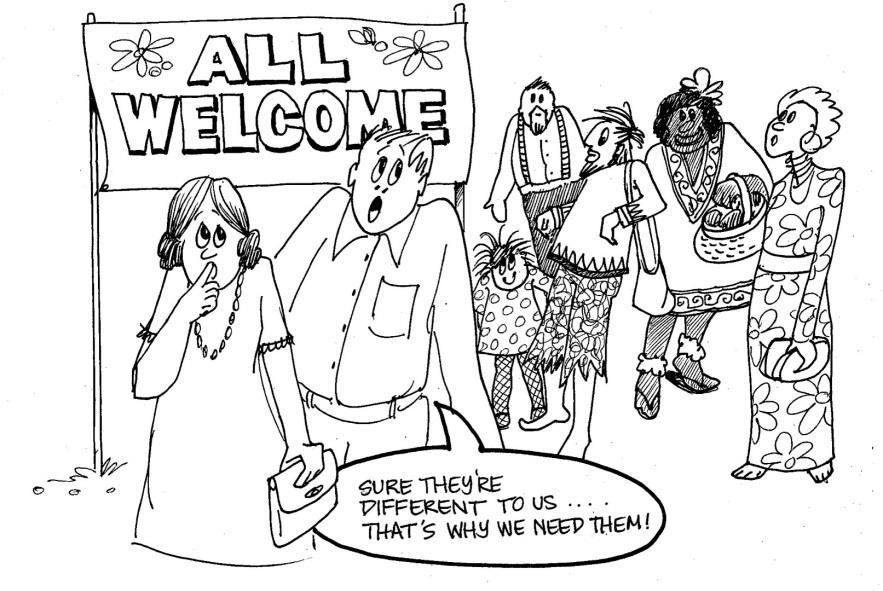 Tolerance of diversity.