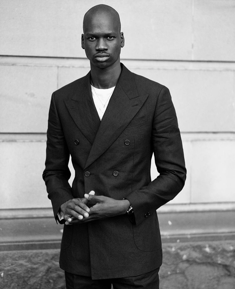 Yach in his black linen suit by SD