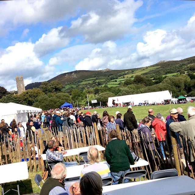 What a great day yesterday! Thanks to all who came, and all those who made it possible- a lot of hard work that paid off! #widecombefair #widecombeinthemoor #dartmoor #devonlife #agriculture #traditions #greatdayout