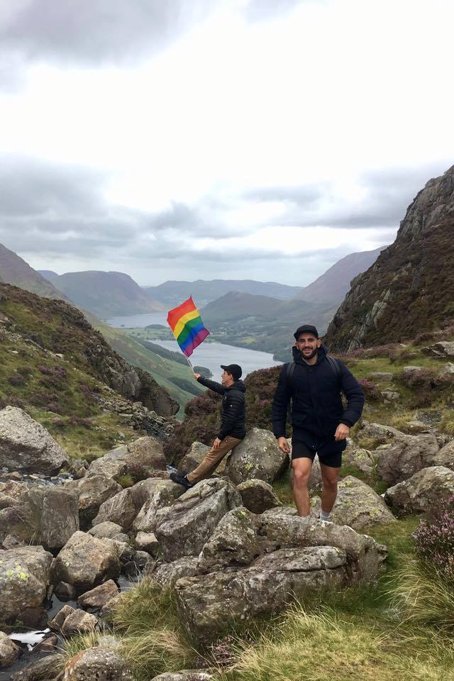 Q&C // Pablo Teixeira (left), Andrew Argo (right), Buttermere, Lake District