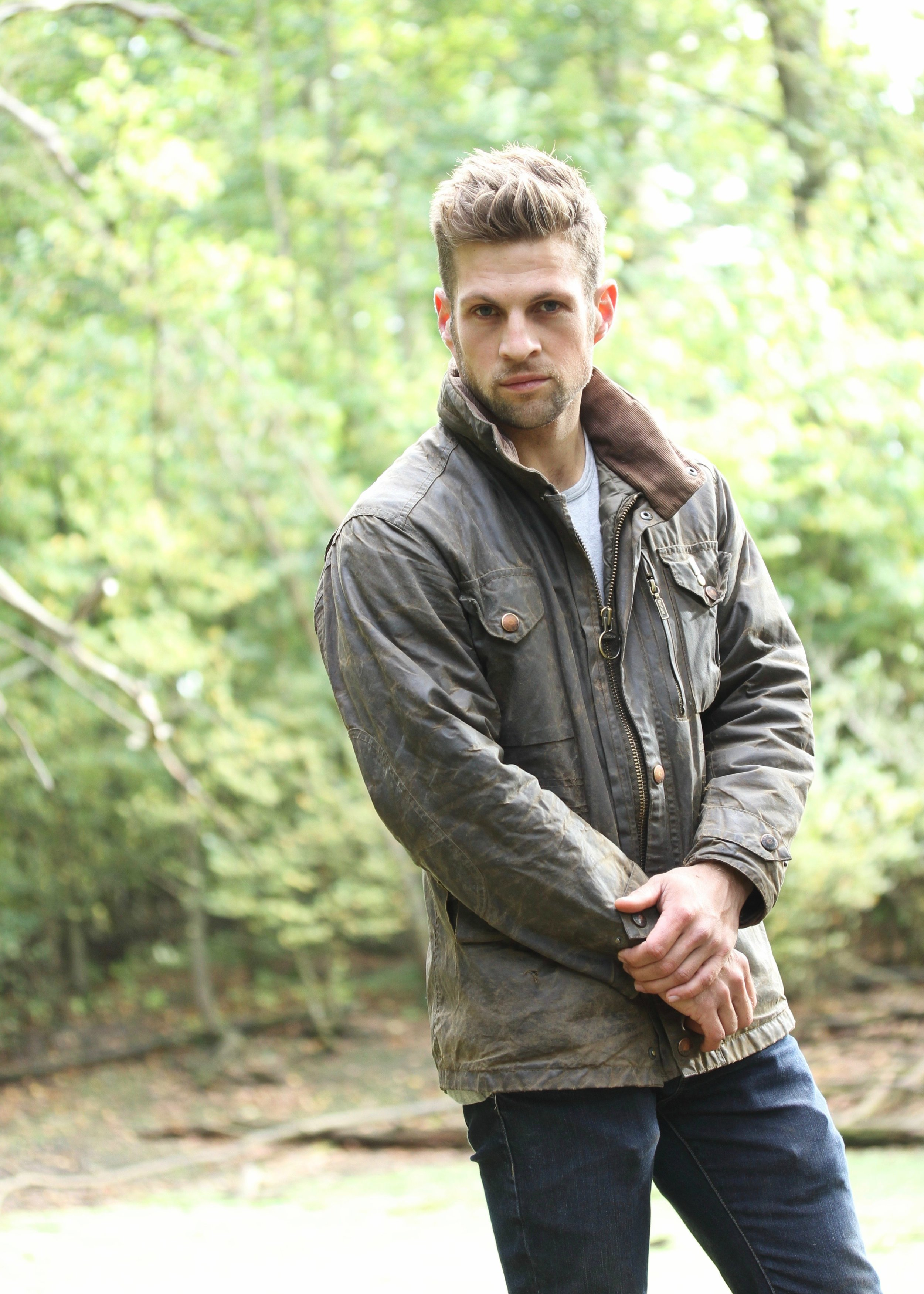 Wax jacket by    Barbour