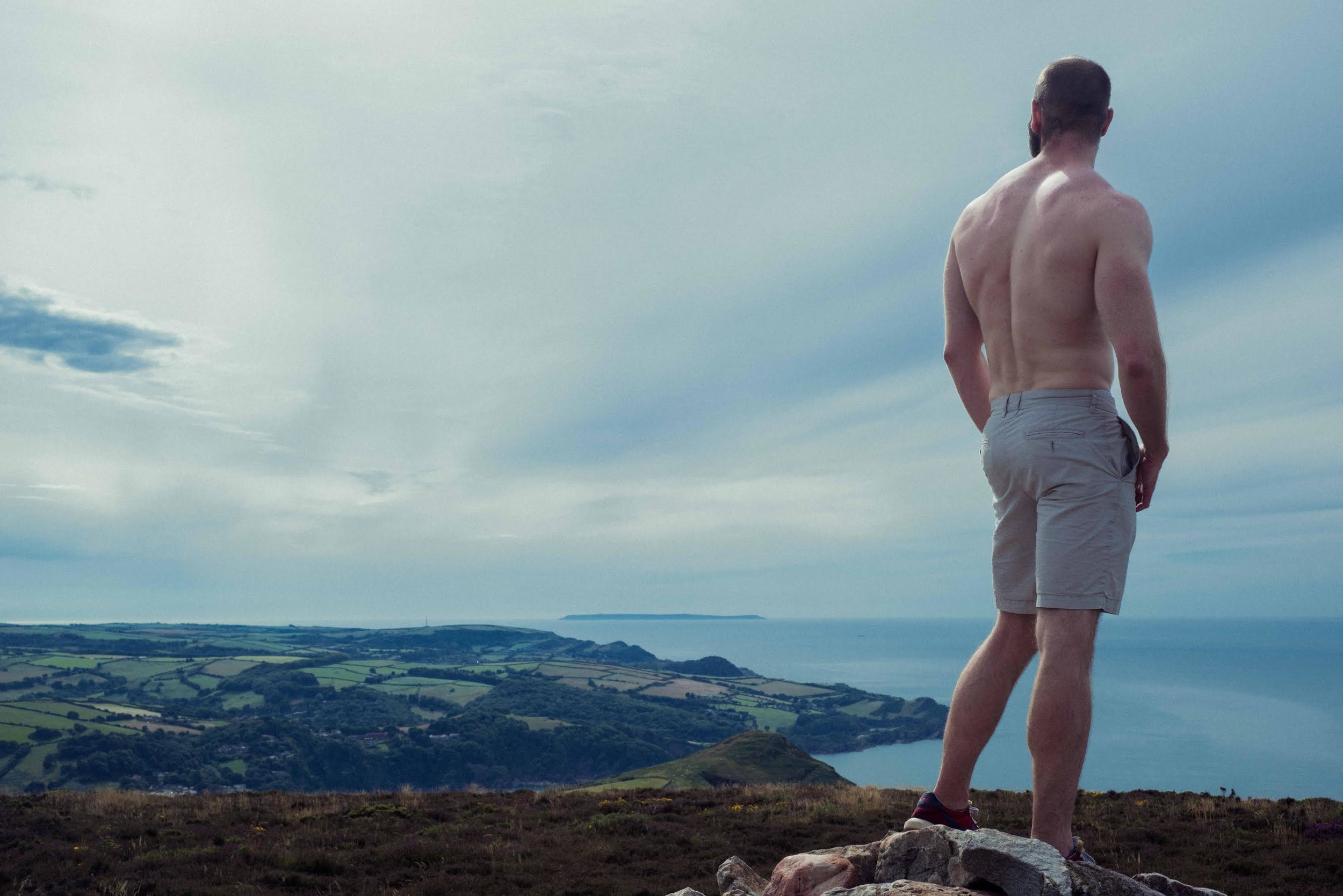 Q&C // Karl Eccleston (Filmmaker)Photographed by: Charles Moriarty, on the south west coast path, Exmoor