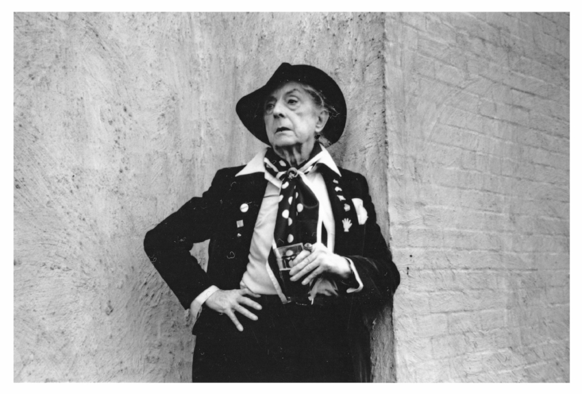 Quentin Crisp photographed by Phillip Ward