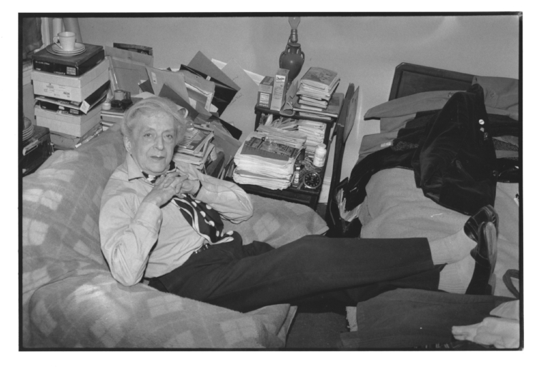 Quentin at home in the East Village, NYC, by Martin Fishman