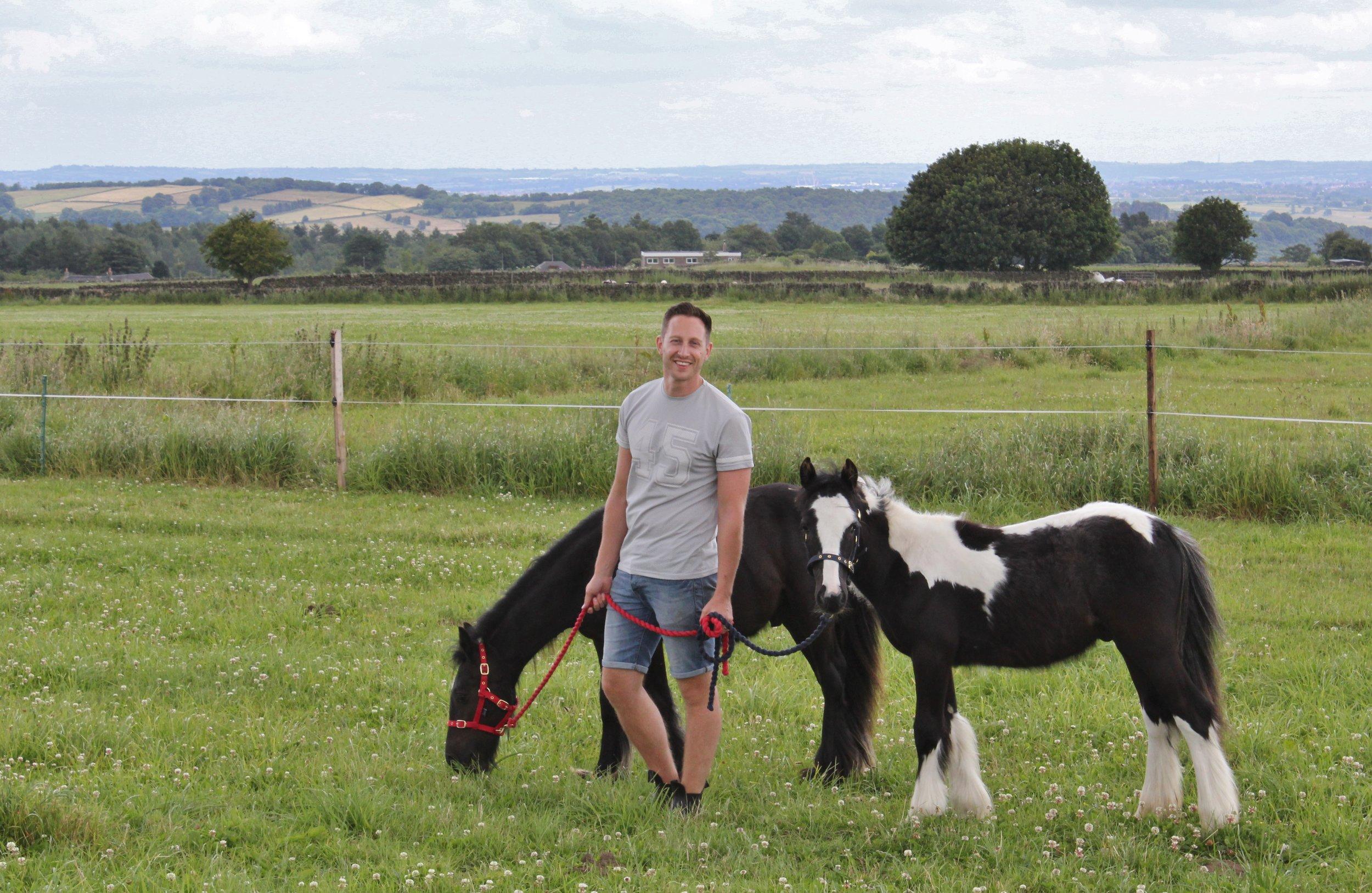 Q&C // Karl Sudbury-Pearse (Horse breeder), Derby