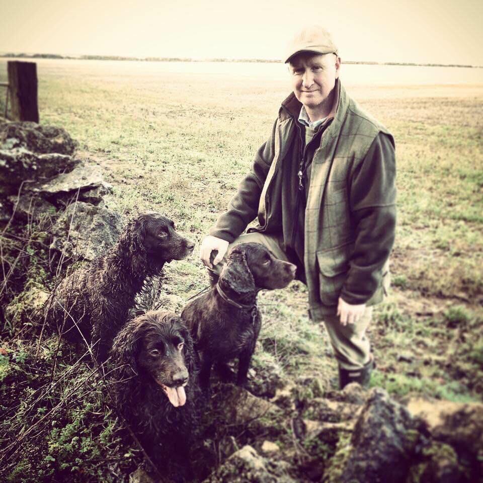 Q&C // Alan Gregg, Hazleton, North Cotswolds. Dogs;Oscar, Brae, Brody