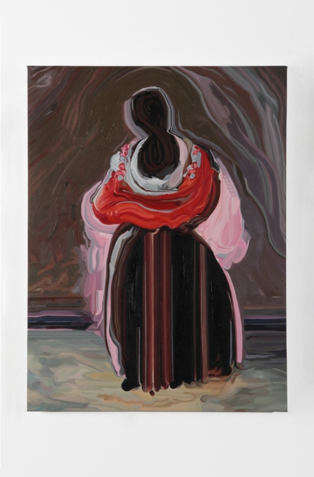 Hermit Woman, 2016, oil on canvas