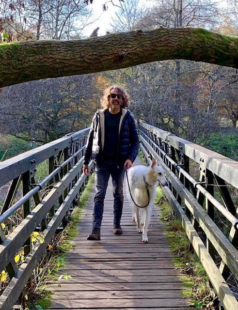 Q&C // Xavi Mora and Sky, Roslin Glen Country Park   @xavigomo
