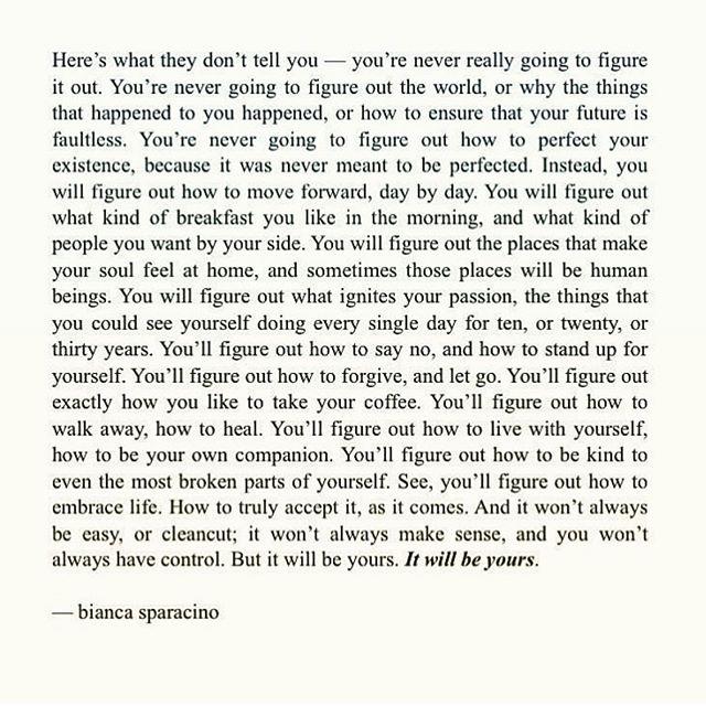 Trust   control. (Beautiful words via. @rainbowsalt ) 💫🌸