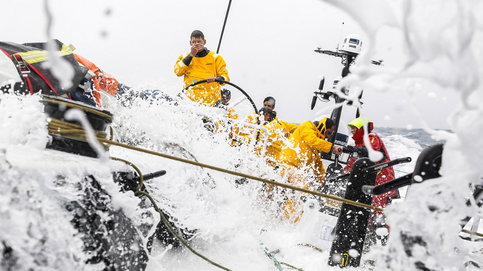 VOLVO OCEAN RACE - As official suppliers to both the Volvo Ocean Race and the Boatyard, Harken plays an integral 360-degree role in this relentless 45,000 mile competition.