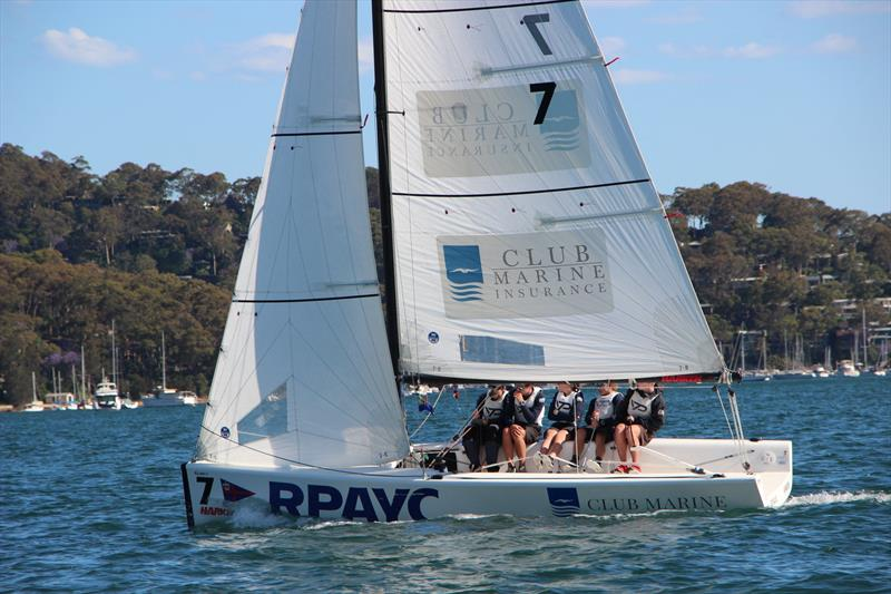 Harken International Youth Match Racing Championship - Royal Prince Alfred Yacht Club, Pittwater NSW - photo © Royal Prince Alfred YC