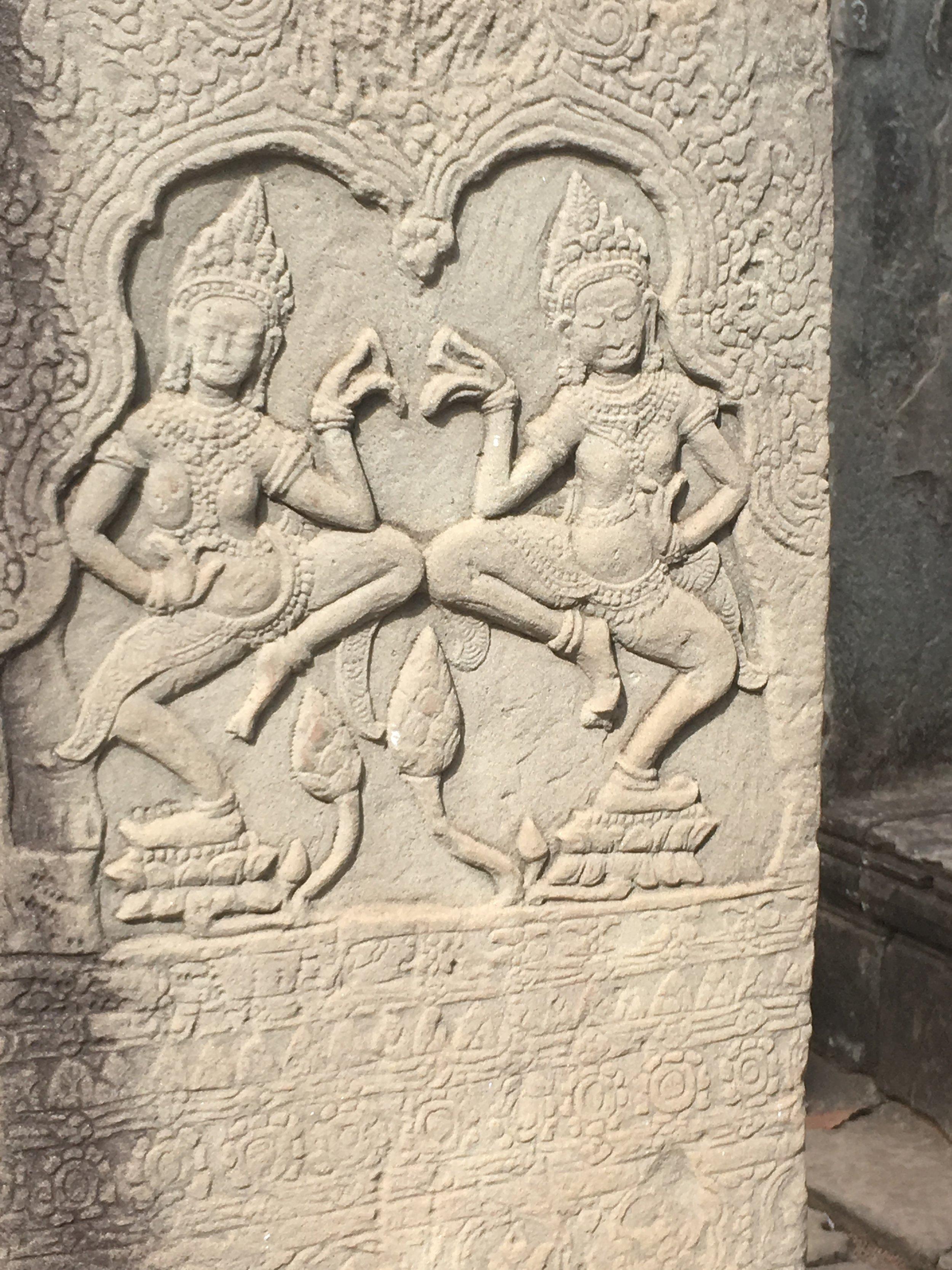 The Apsaras, or heavenly dancing ladies