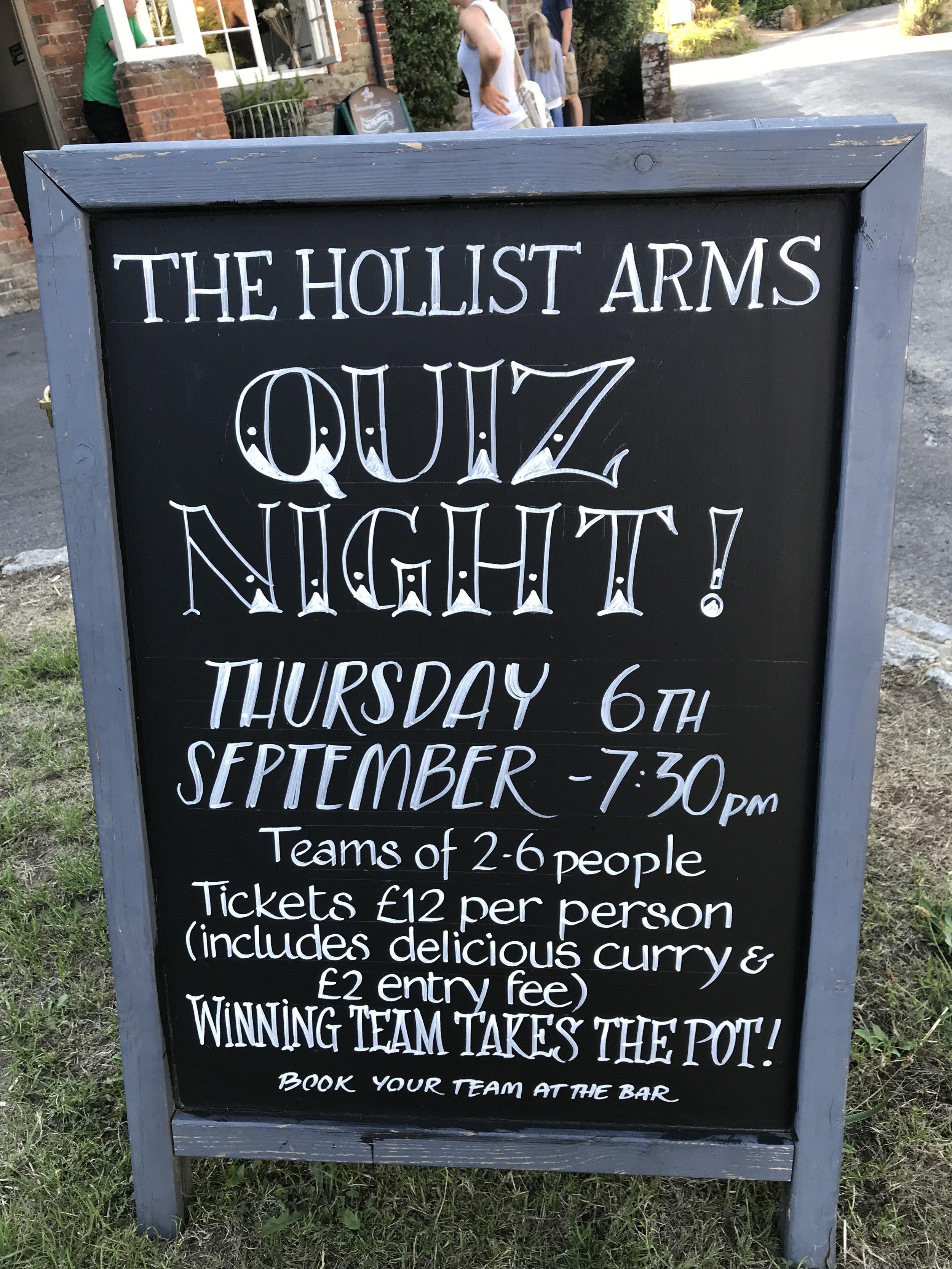 Pub Quiz Chalk Board 6th Sept 2018.jpg