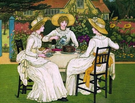 High tea in Victorian Britain - culture, politics and prestige