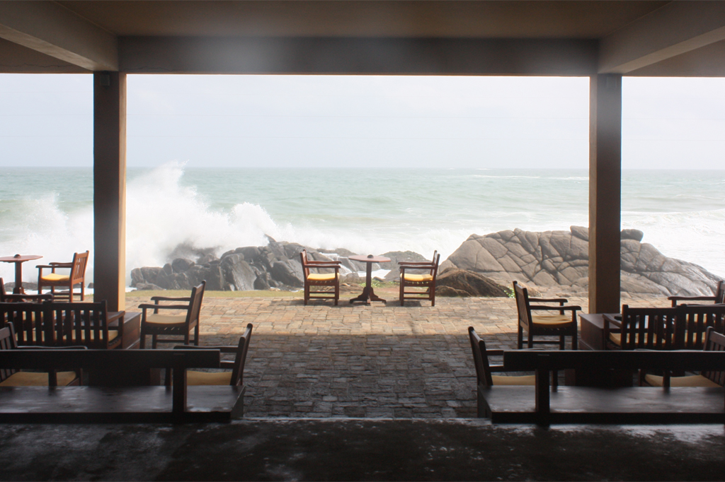 How I remember the view from the foyer on that first visit to The Lighthouse Hotel. Photo credit: Thomas Merkel