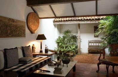 Bawa's Colombo residence - interior detail