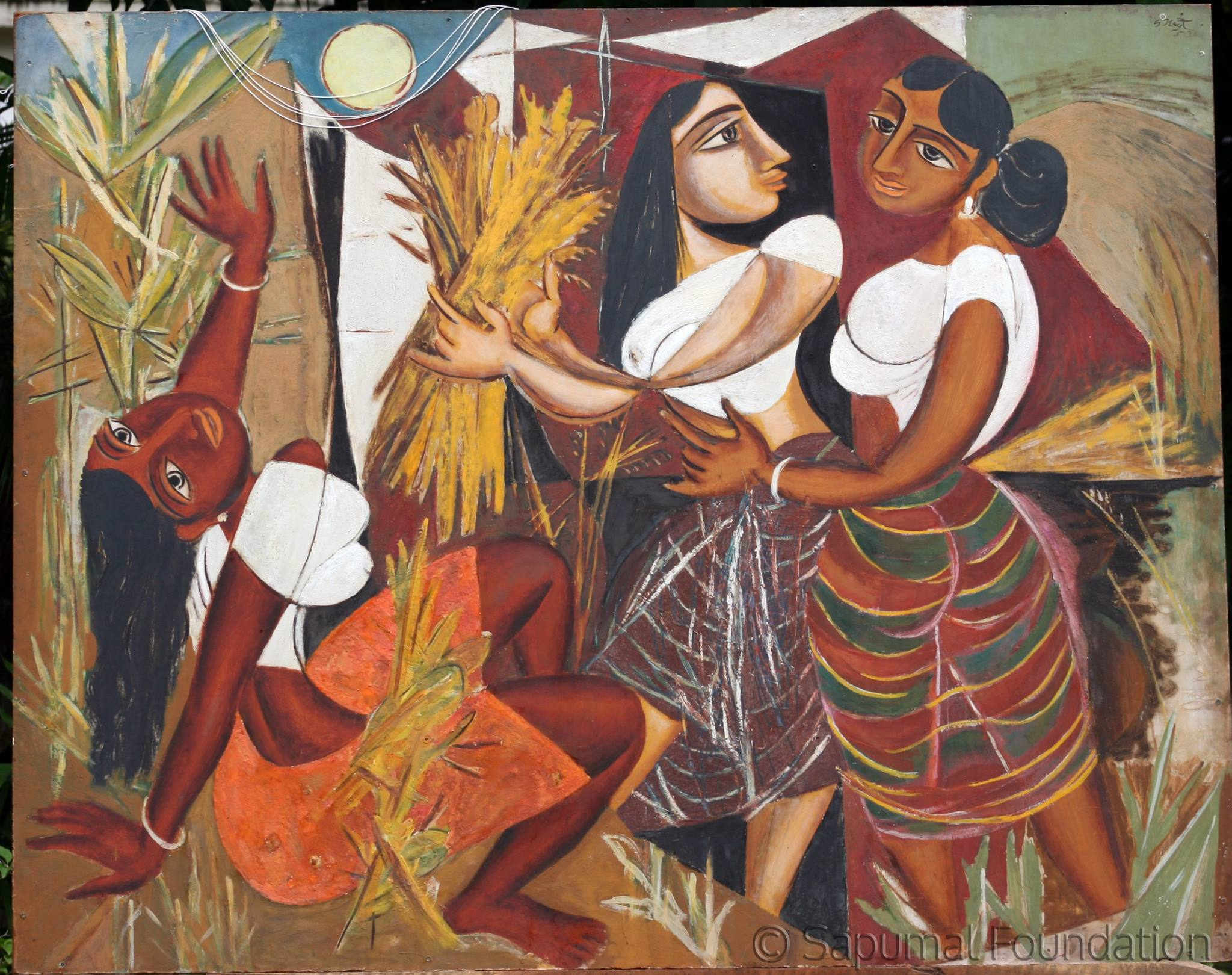 A George Keyt painting at the Sapumal Foundation