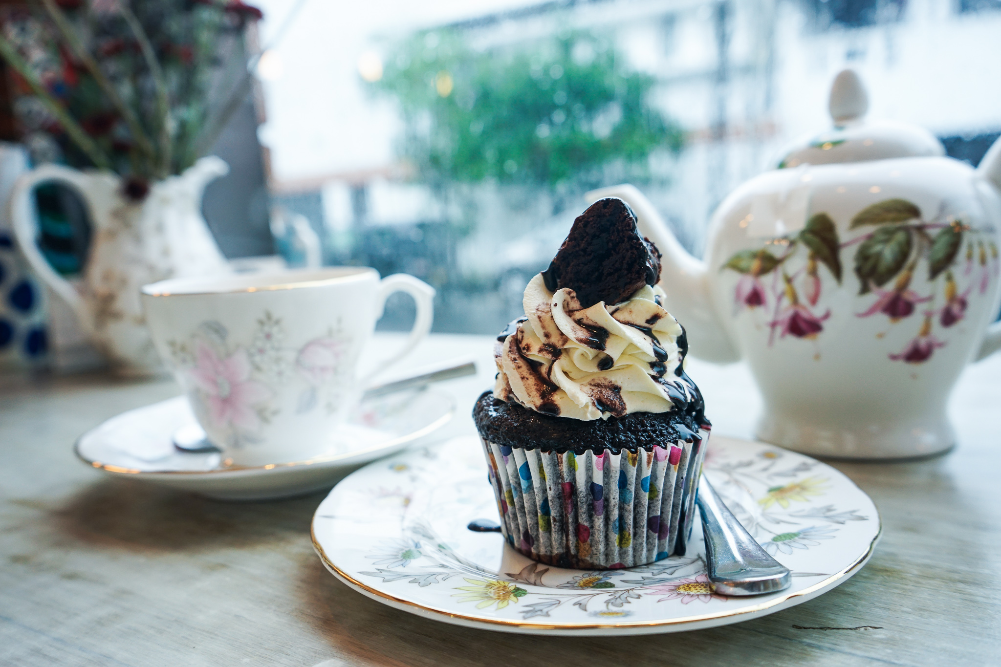 Cupcake at Bakes by Bella