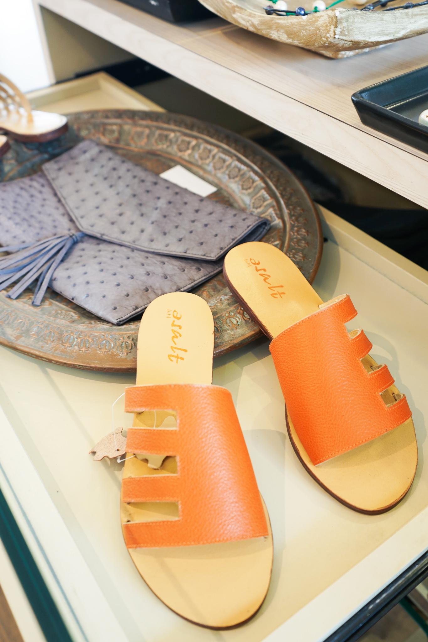 Asalt Sandals at L'Atelier Touche