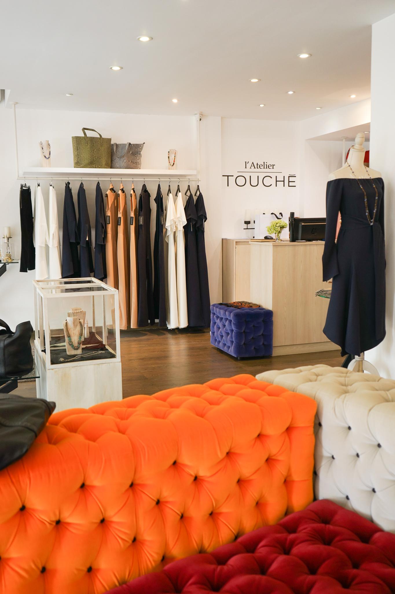 L'Atelier Touche store