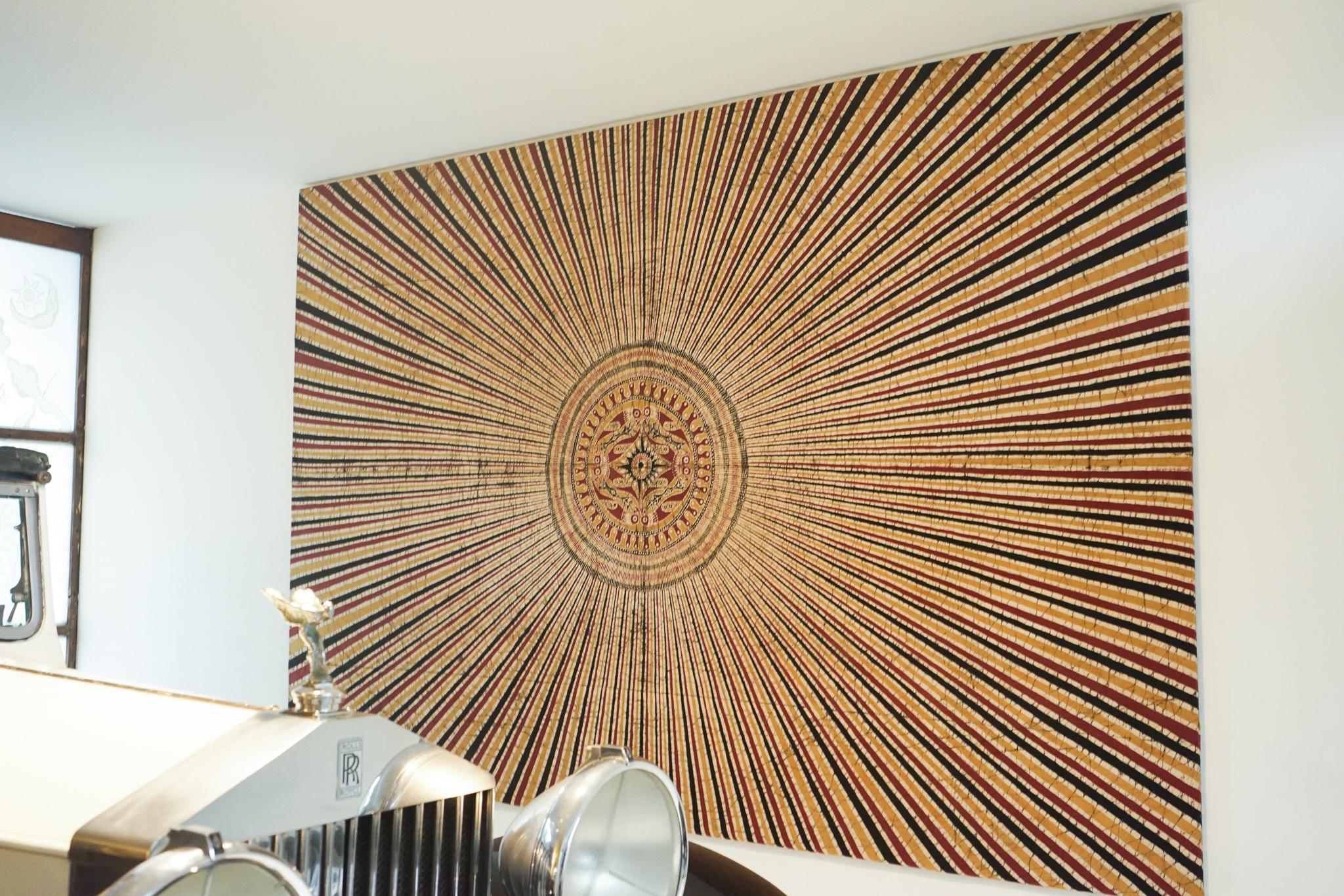 Bawa house: Ena de Silva batik tapestry