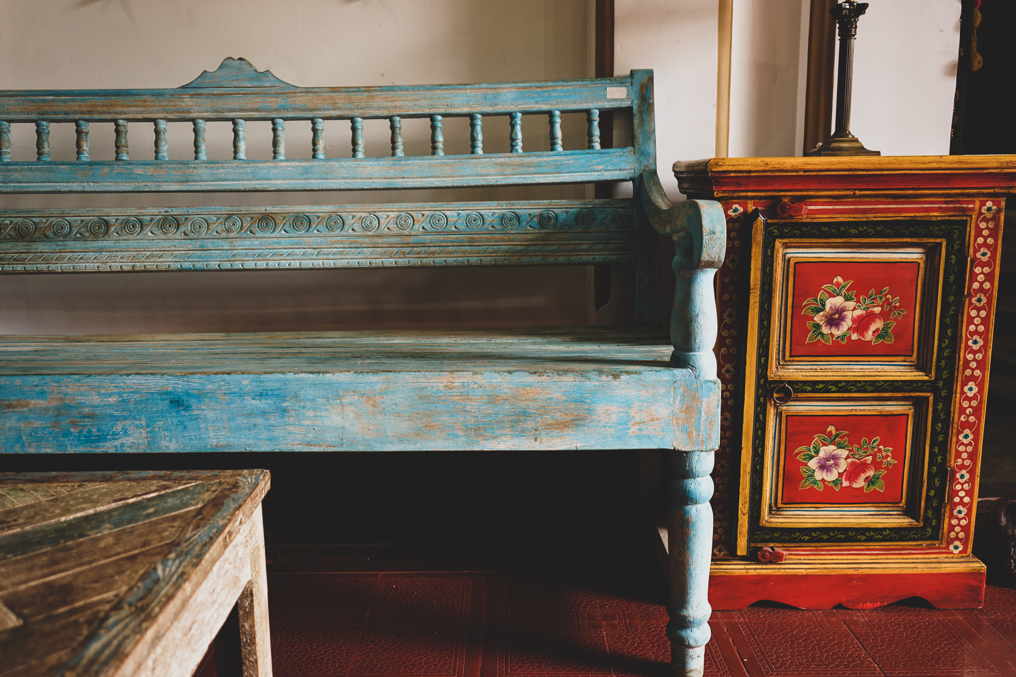 South Asian furniture