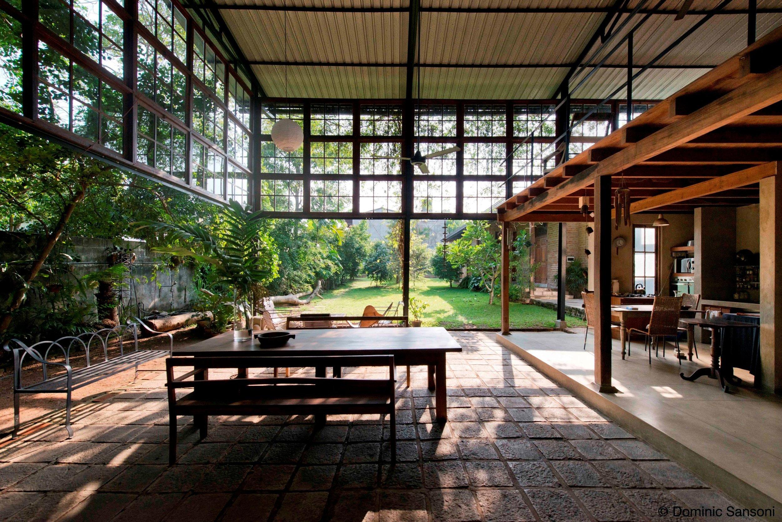 Mirihana home - garden room