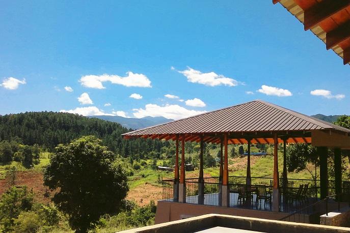 Pavillion House - views enhancing a building's beauty