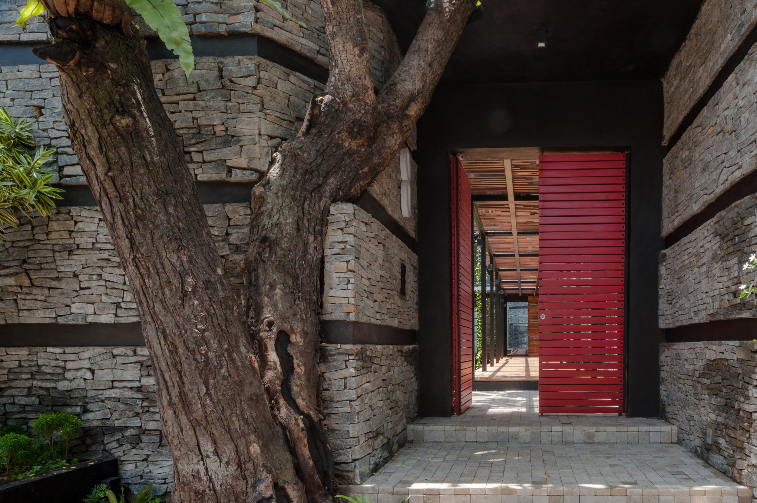 House No. 8 - the entry door