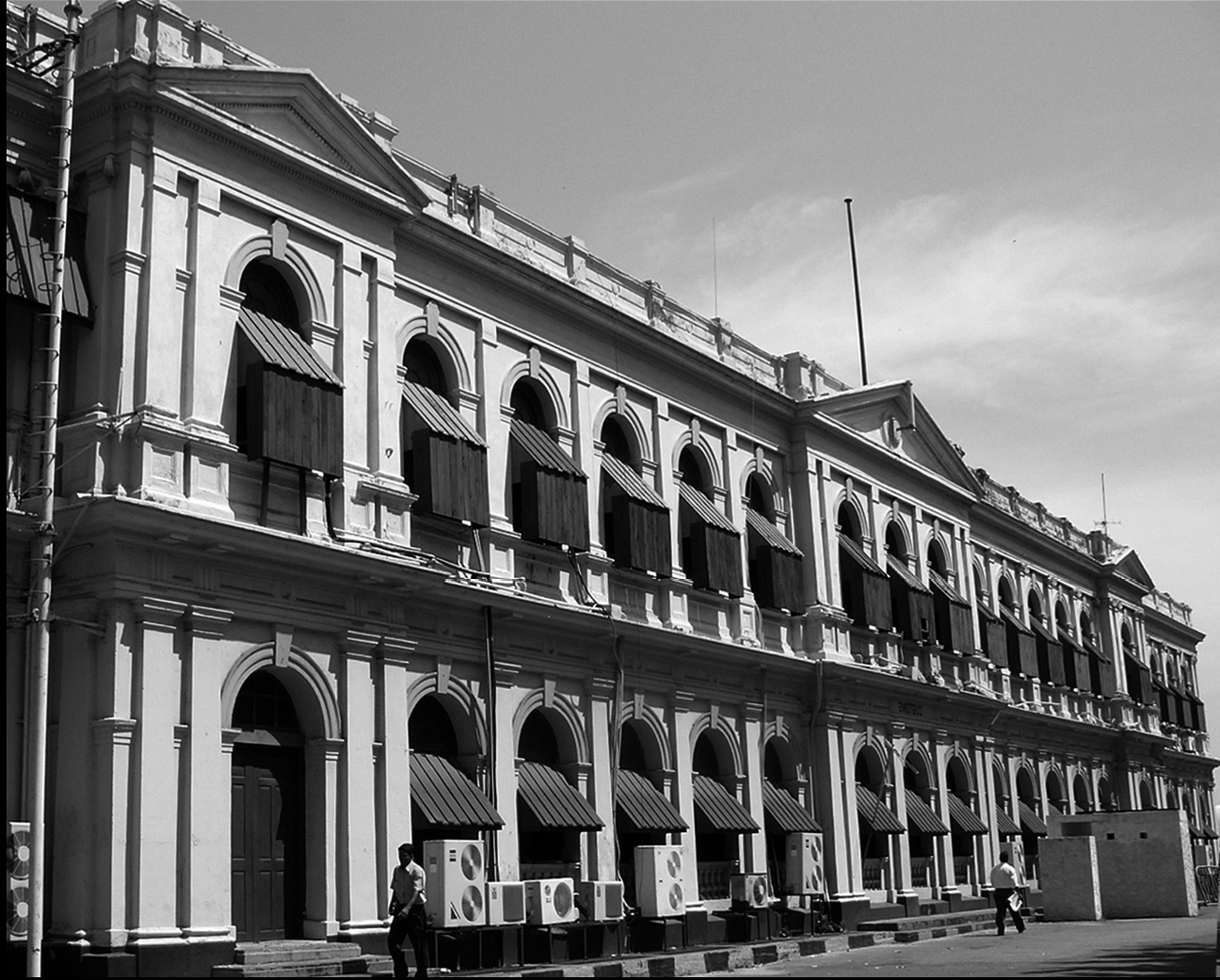 Ministry of Ports and Aviation - old colonial building