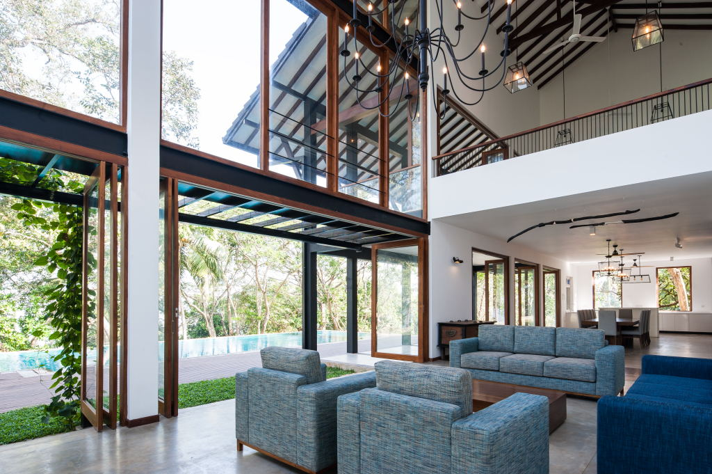 Bolgoda house - internal spaces