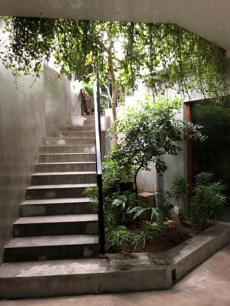 Entrance to The Ebony Tree apartments in central Colombo Photo credit: Amila de Mel