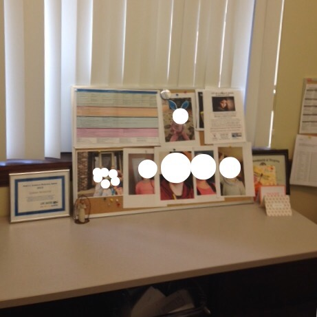 Lorna, our Associate Director, keeps pictures of the kids her advocates are helping in her office as a reminder of WHY we do what we do. Otherwise, it is easy to feel hopeless when looking at the vast numbers of abused children. Looking at those sweet faces, however, keeps her focused and reminds her daily that the work we do makes a difference.