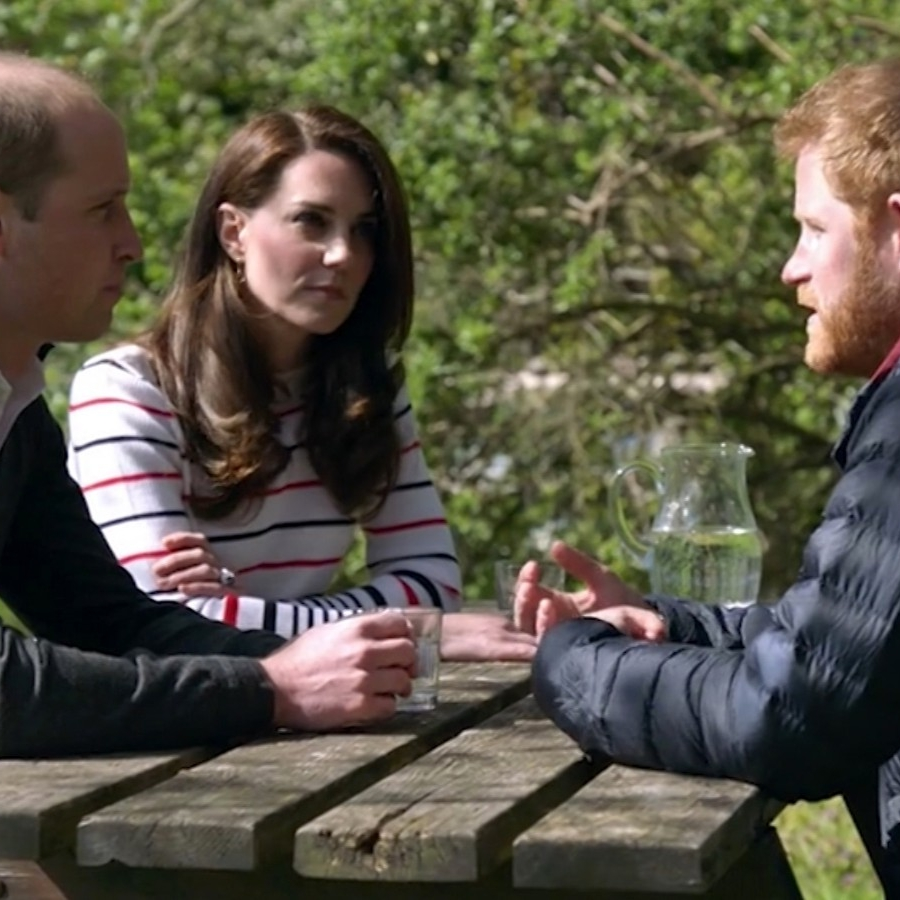 July - The royal family discusses a more transparent approach to mental health.