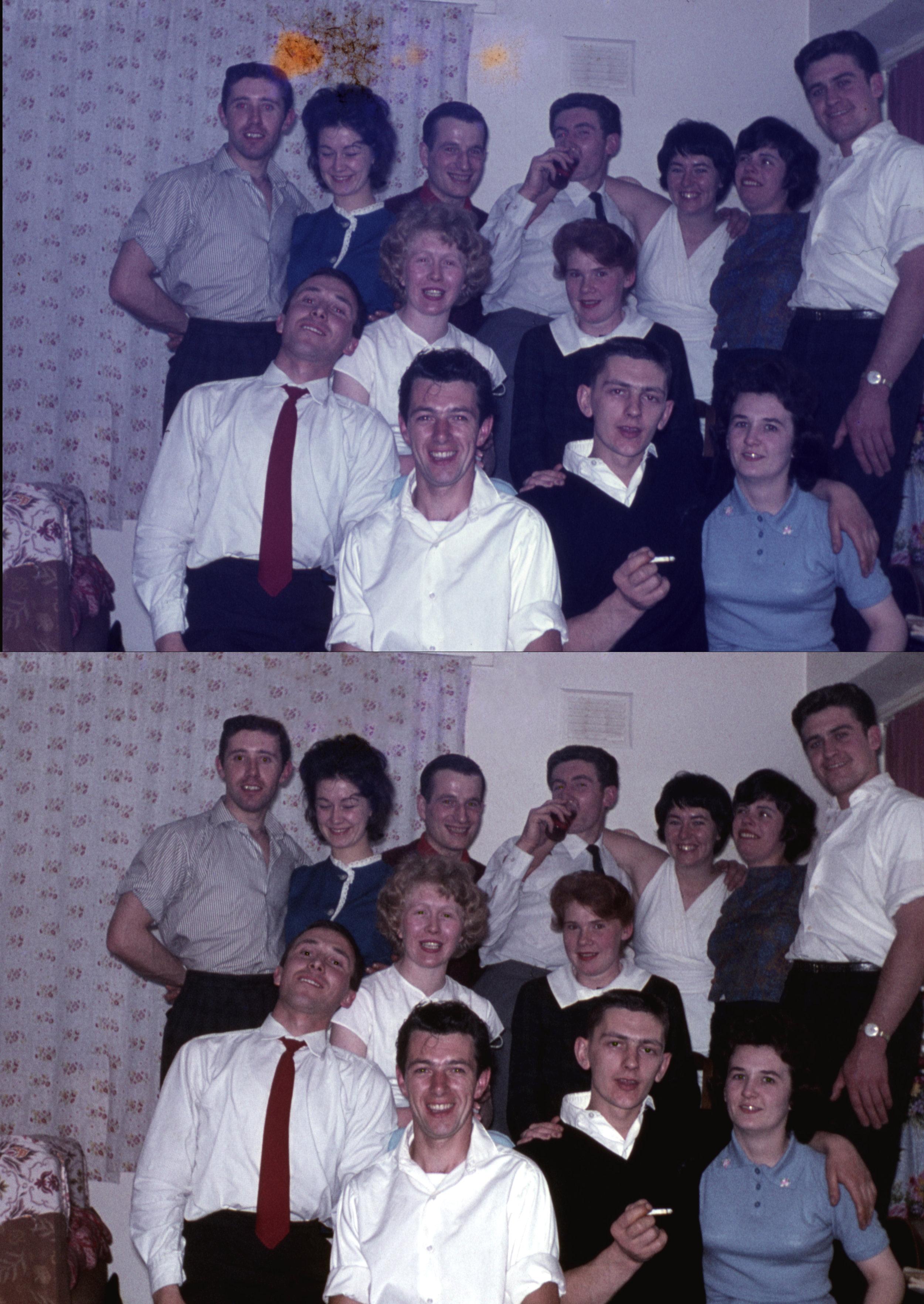 Party, ca 1965  - 35mm colour positive slide