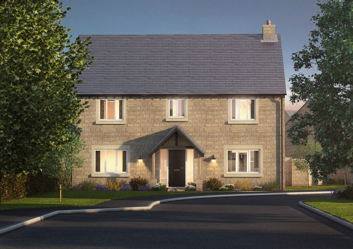 The Cropredy - 5 BEDROOM HOUSESHOMES 1(THE SHOW HOME), 9, 10, 13, 28, 32 & 44