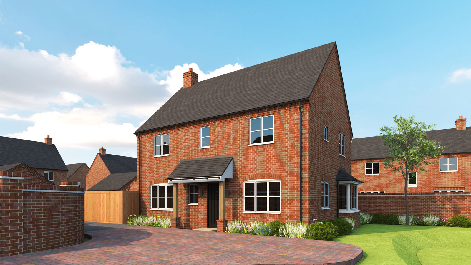 Gloucester II - A DISTINCTIVELY DESIGNED4-BEDROOM FAMILY HOME