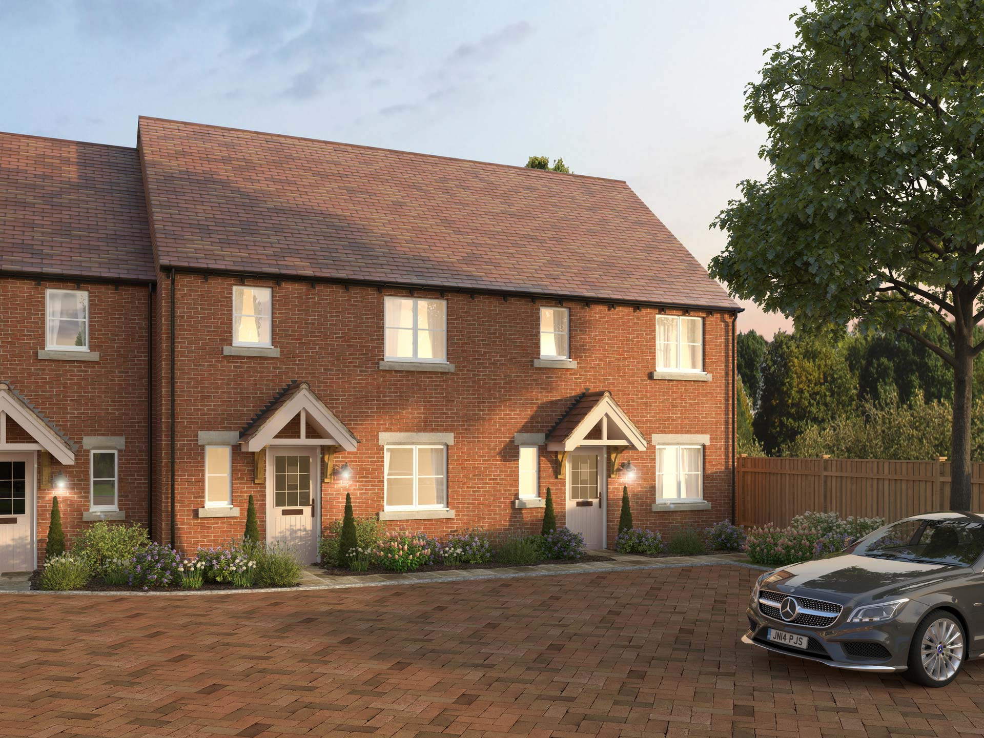 The Buckland - 3 BEDROOM HOUSEHOMES 64 & 65