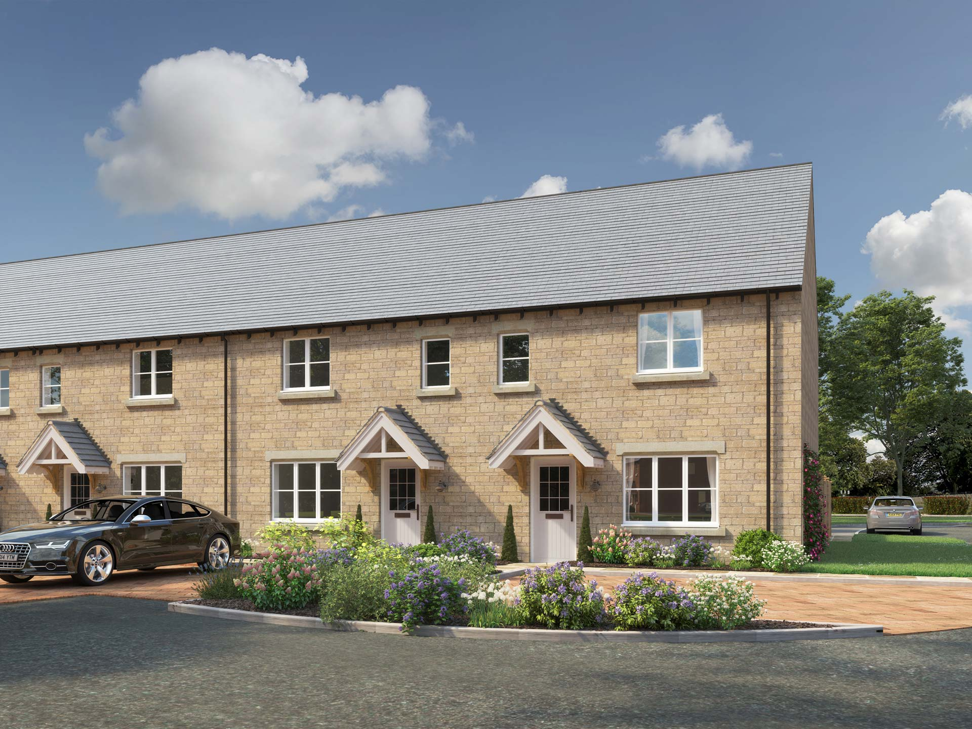 The Marcham - 2 BEDROOM HOUSEHOMES 69,70,71,72,73 & 74