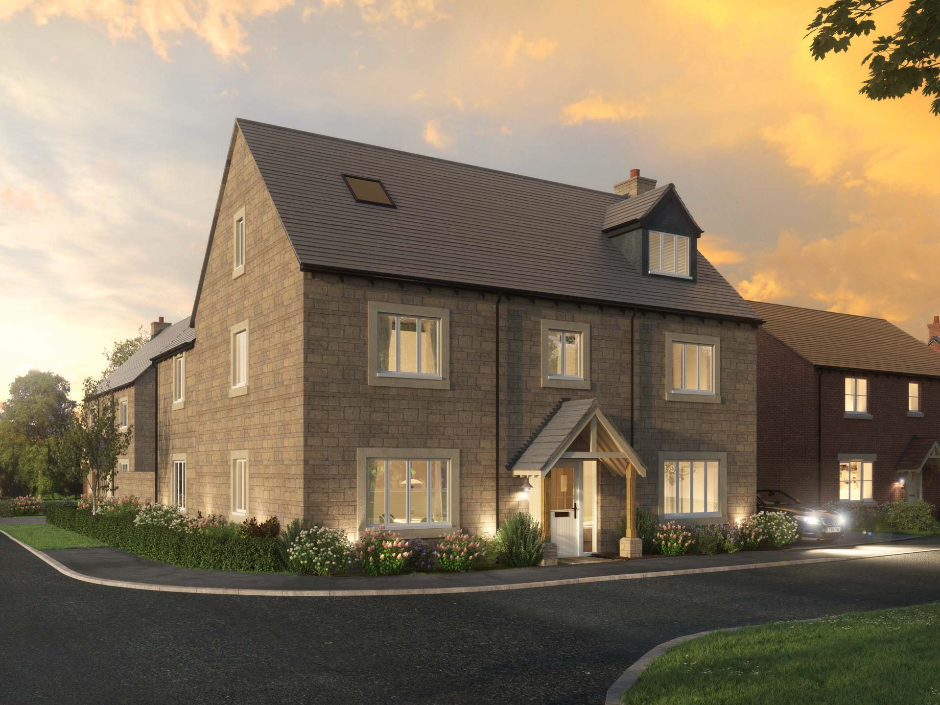 The Woodstock - 5 BEDROOM HOUSESHOMES 45 & 49