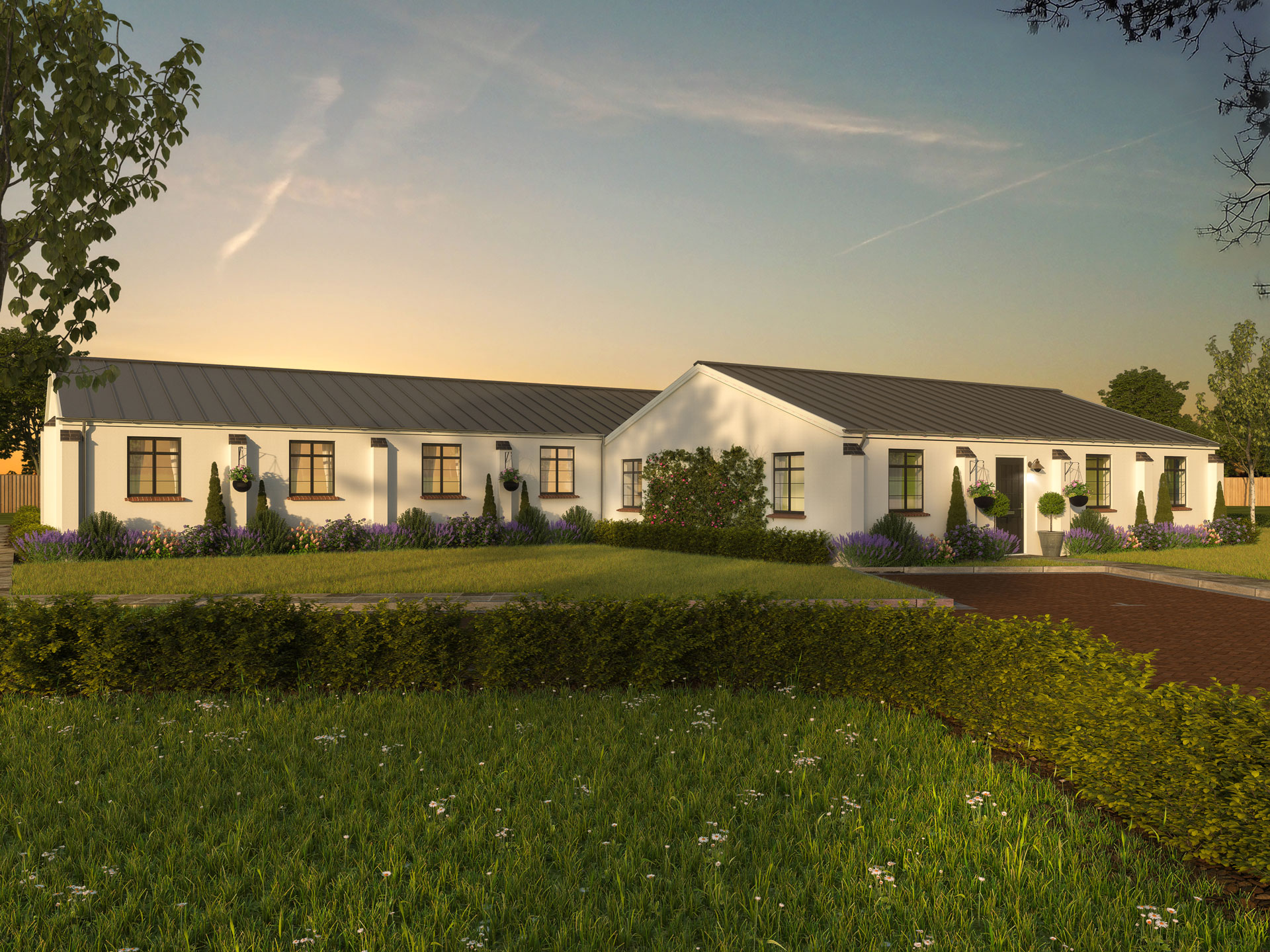 Pope's House,Chapel House &Moat House - 2 BEDROOM BUNGALOWHOMES 64, 65 & 66